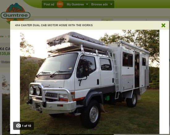 4x4 canter off gumtree
