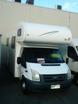 Our new motorhome at dealer