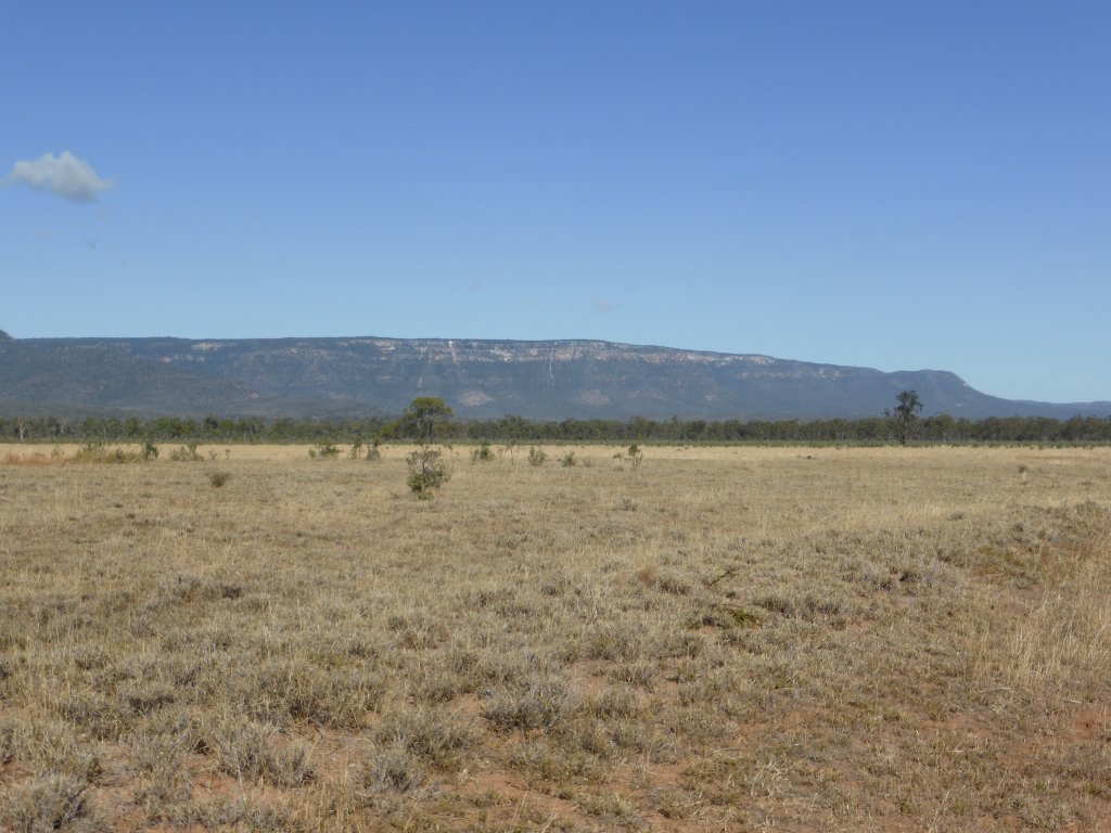 Blackdown Tablelands from a distance