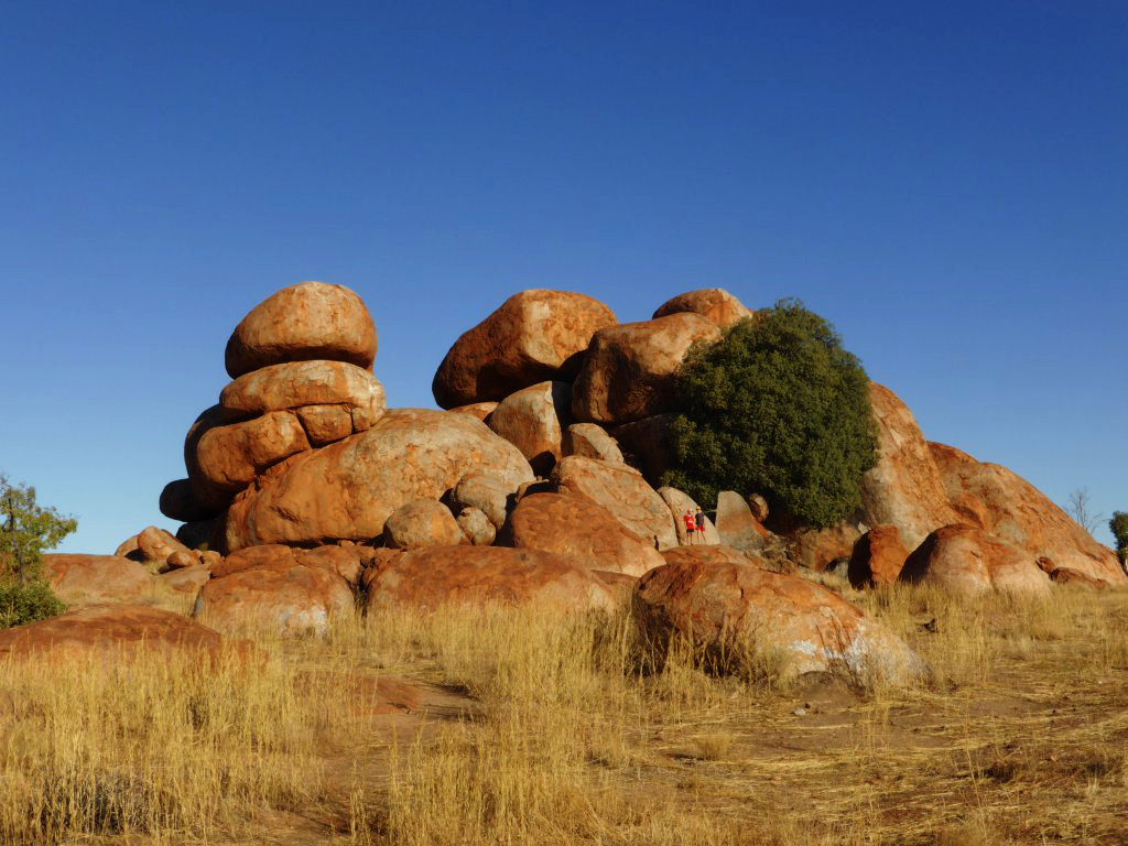 It can be difficult to tell the scale of these rocks from the pics. Can you spot Jonathan and Daniel?
