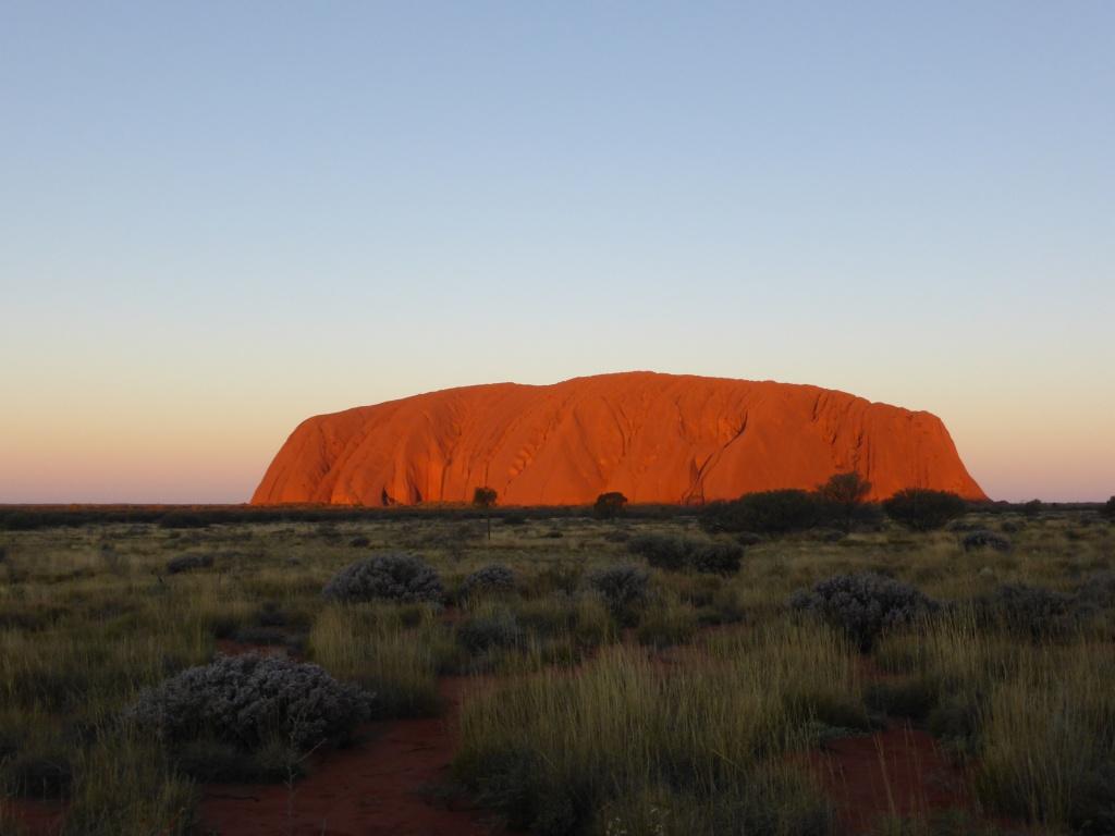 Uluru at Sunset!