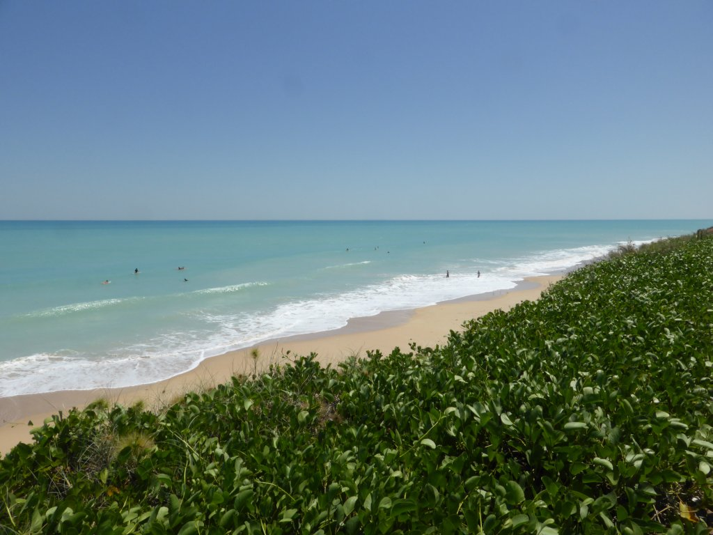 Looking down onto Cable beach