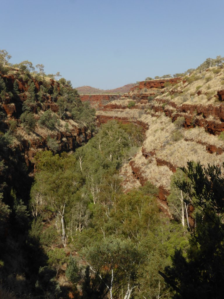 Dales Gorge, looking east