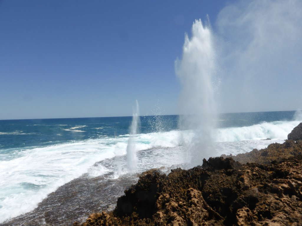 Point Quobba Blow holes