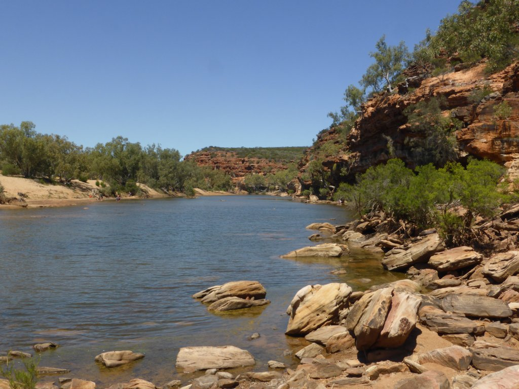 Murchison River, down from the Ross Granham Lookout