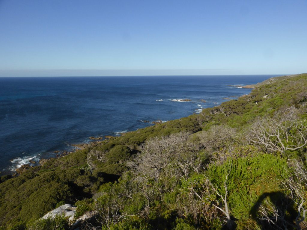 looking east from Cape Naturaliste