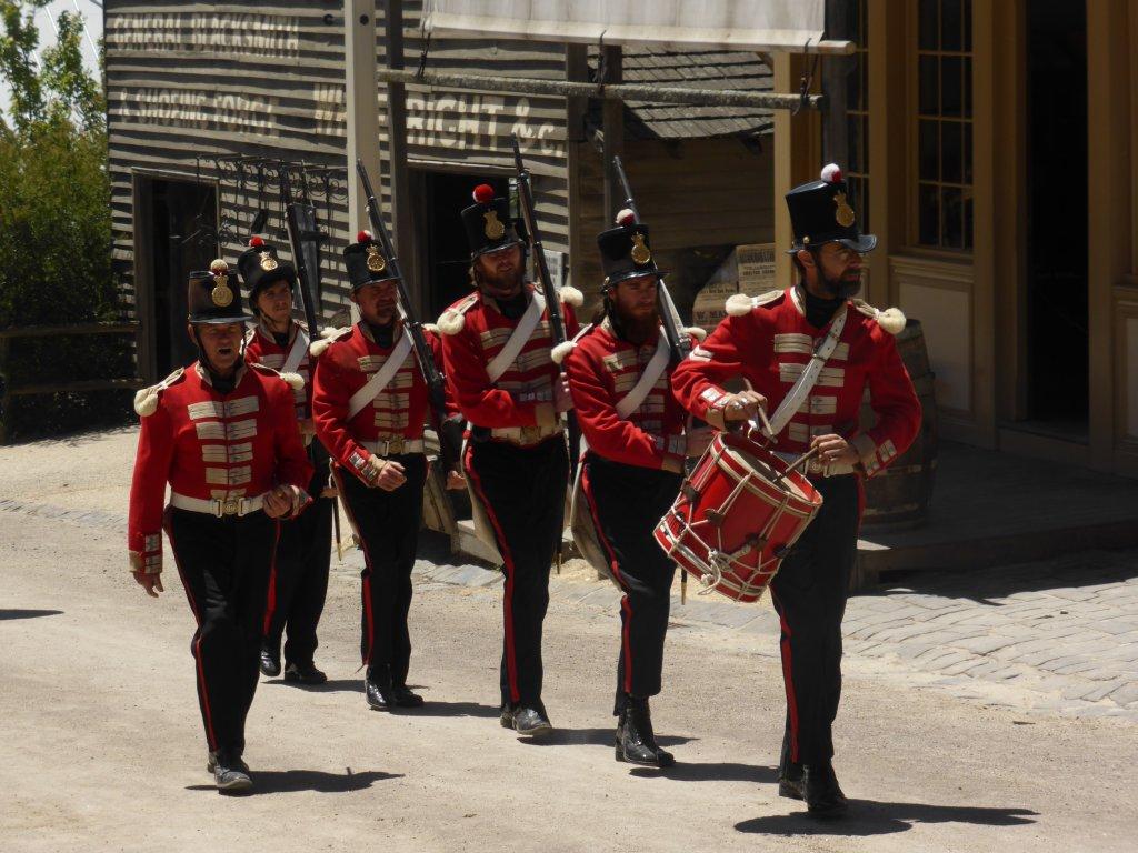 Redcoat soldiers