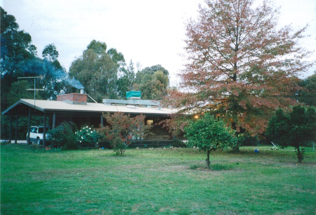 Flashback Photo: Our home at Milawa (2003)
