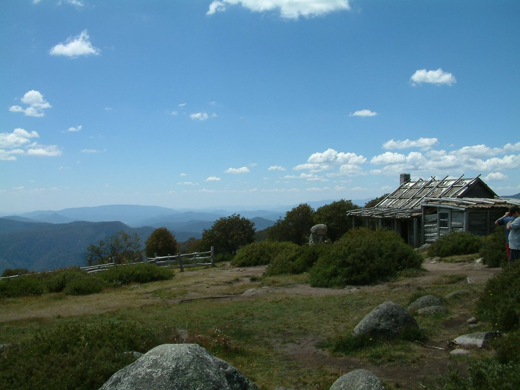 Craigs Hut. Used in the film The Man from Snowy River.