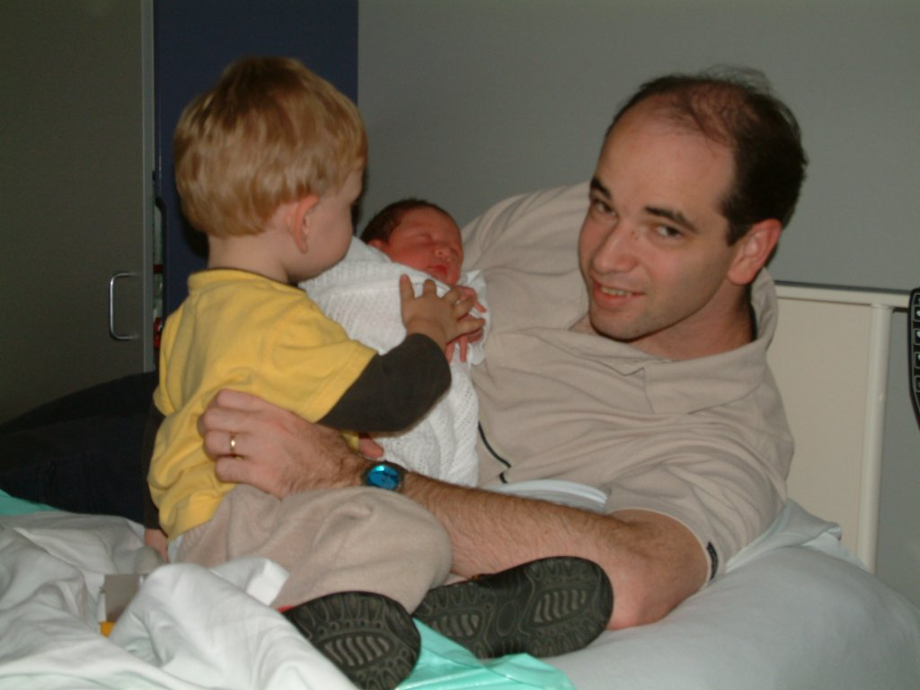 Flashback photo: baby Daniel! (early 2004)