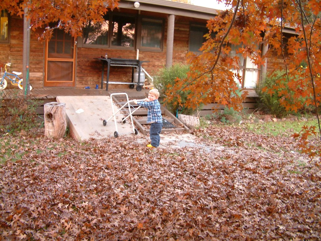 Flashback photo: autumn 2004. It's a beautiful time of year.