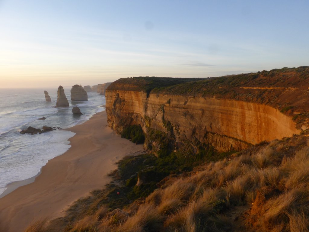 Looking over the Twelve Apostles