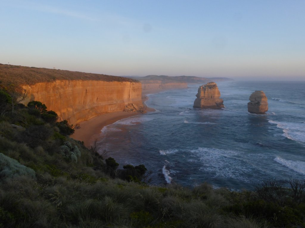 apparently these aren't part of the twelve apostles, but given the dwindling numbers they'll have to do...
