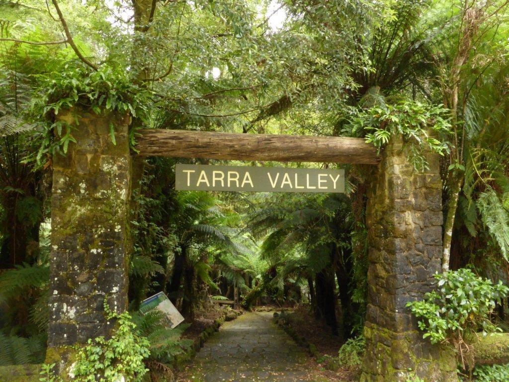 Tarra Valley walk/picnic area entrance